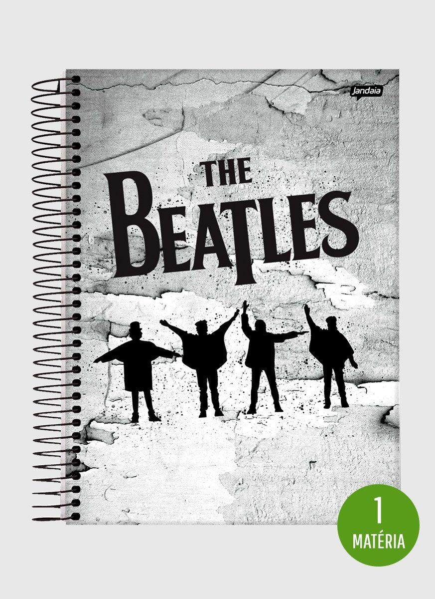Caderno The Beatles Help! 1 Matéria