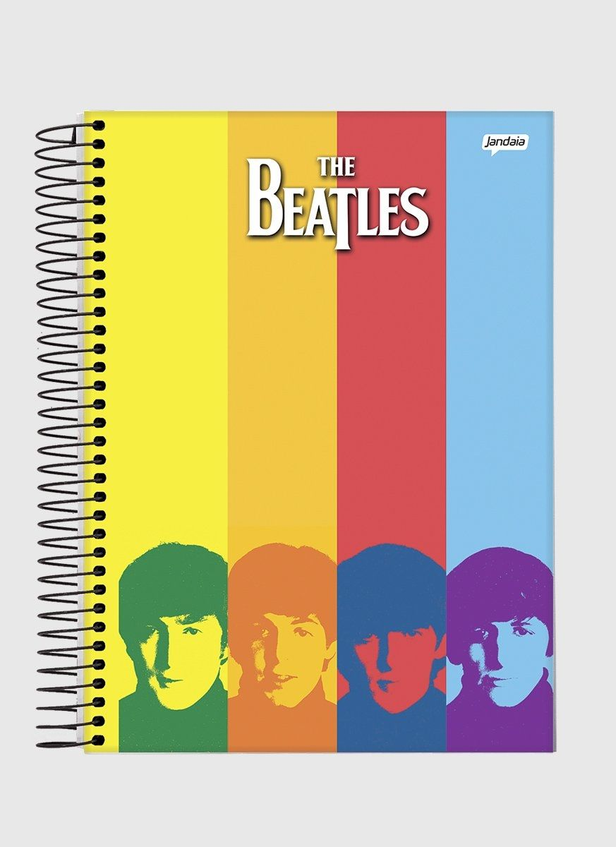 Caderno 1 Matéria The Beatles Rainbow