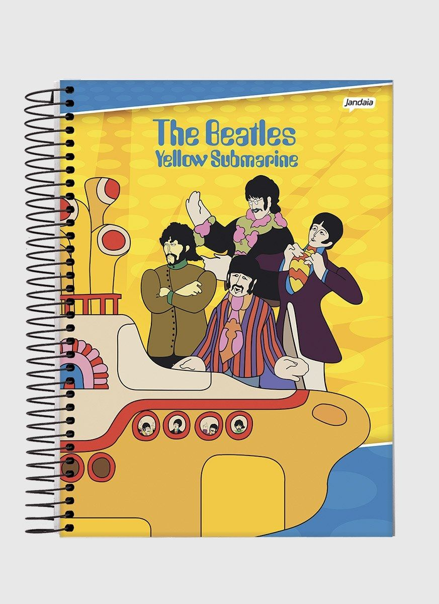 Caderno 1 Matéria The Beatles Yellow