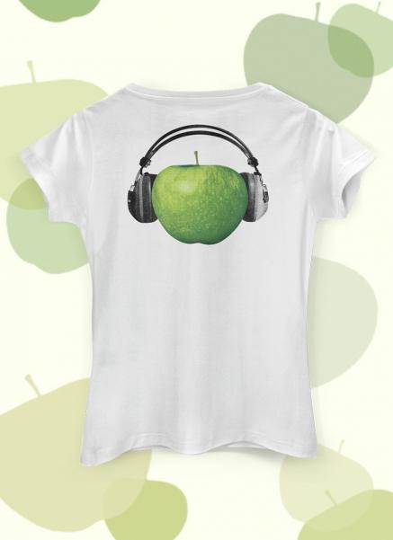 Camiseta Feminina The Beatles On Apple