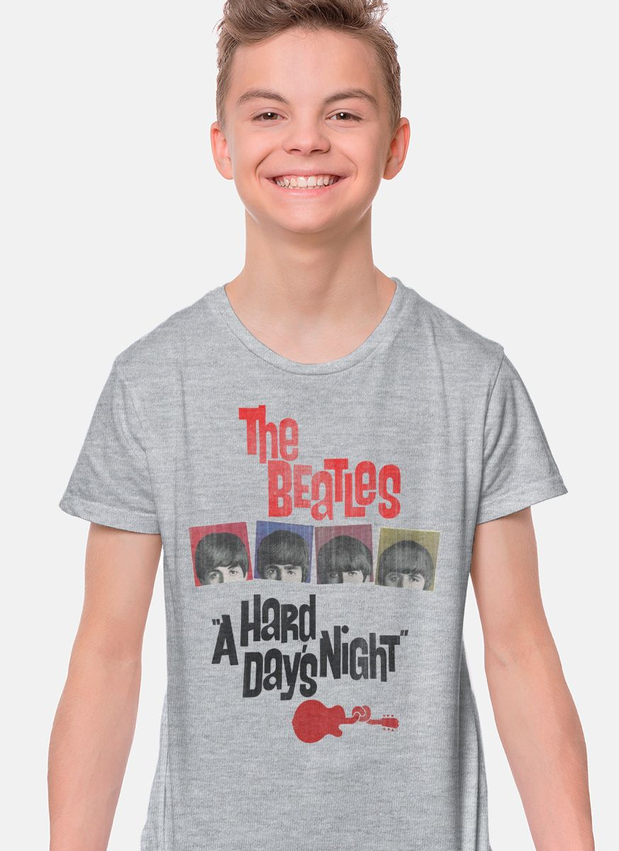 Camiseta Infantil The Beatles A Hard Day´s Night