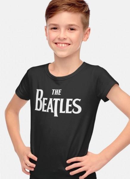 Camiseta Infantil The Beatles Logo