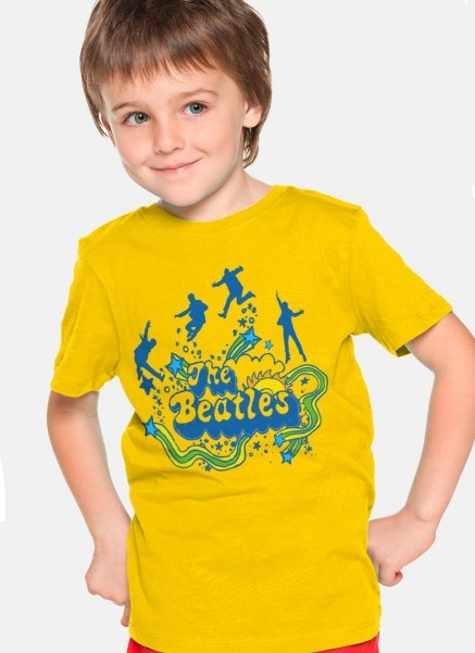 Camiseta Infantil The Beatles Love