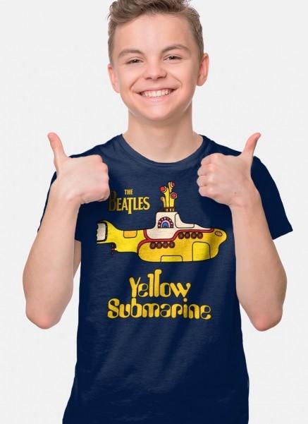 Camiseta Infantil The Beatles Yellow Submarine