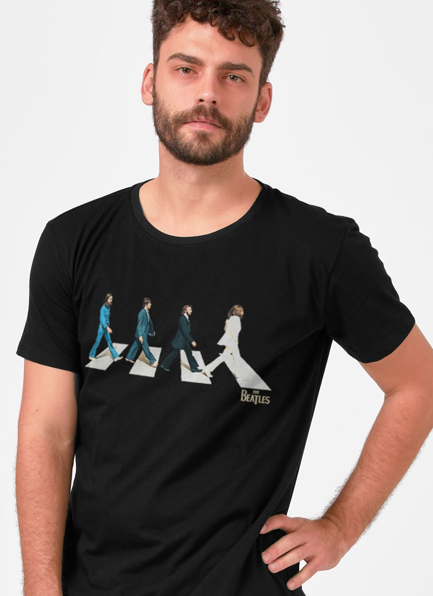 Camiseta Unissex The Beatles Abbey Road