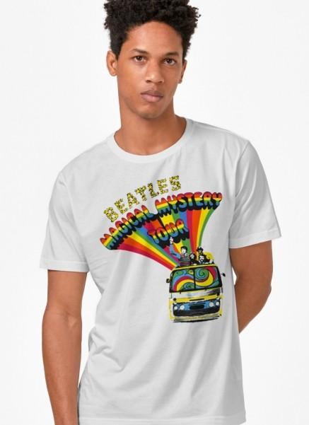Camiseta Unissex The Beatles Bus Basic