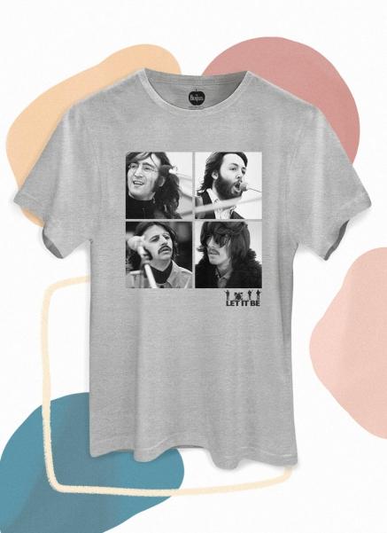 Camiseta Unissex The Beatles Let It Be Photo
