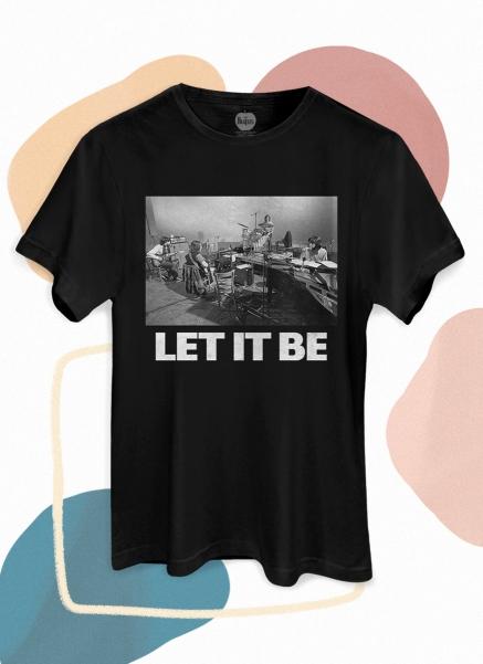 Camiseta Unissex The Beatles Let It Be Studio