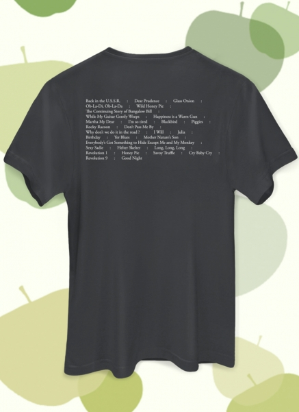 Camiseta Unissex The Beatles On Apple Faces