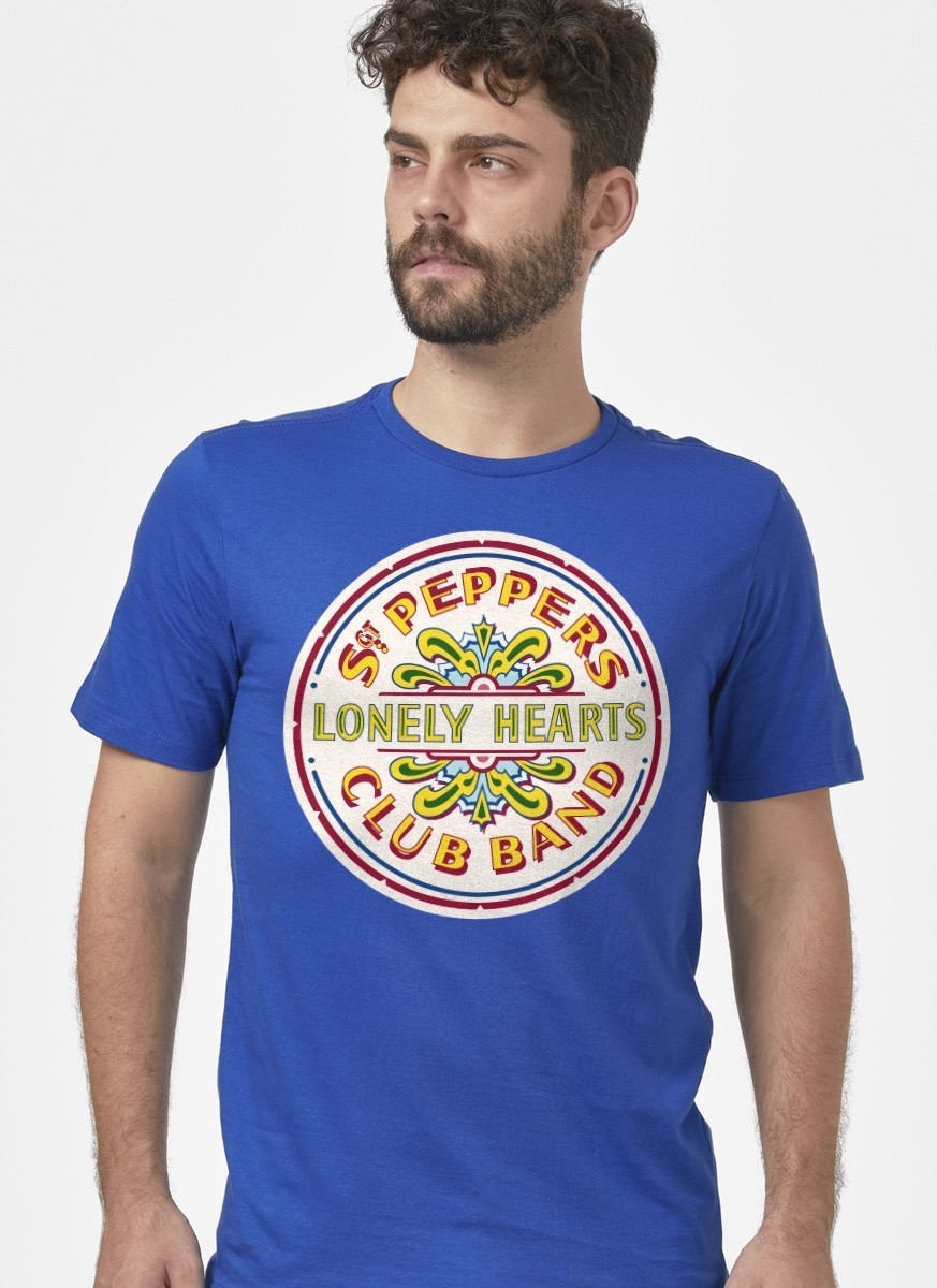 Camiseta Unissex The Beatles - Sgt Pepper´s Club Band And The Lonely Hearts