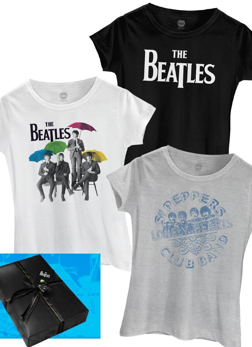 Combo Presente The Beatles Classic