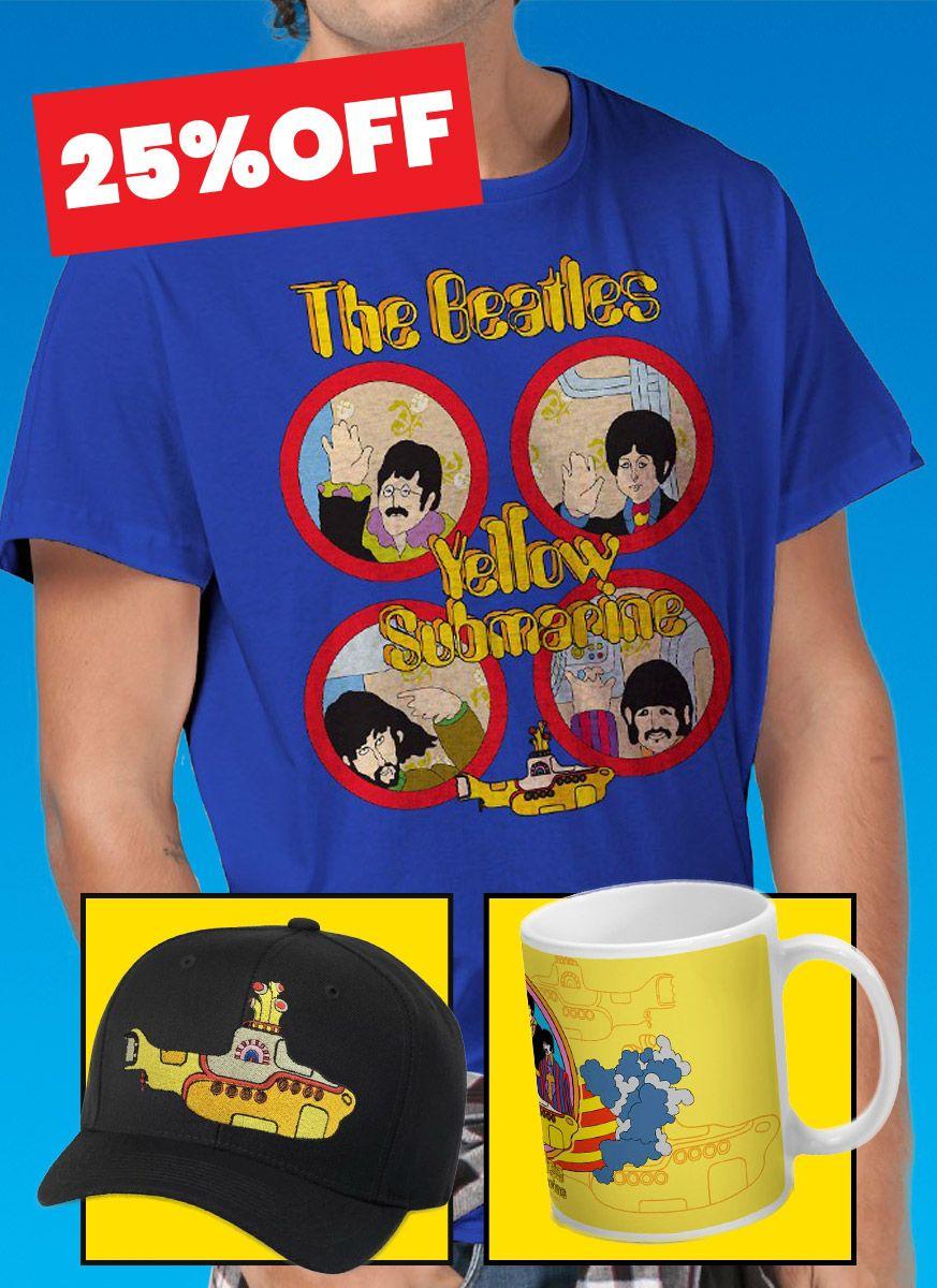 Combo The Beatles Especial Yellow Submarine