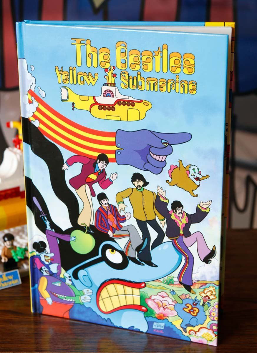 Graphic Novel The Beatles Yellow Submarine