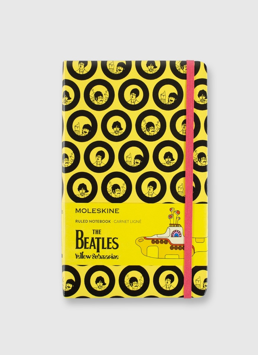 Moleskine The Beatles Yellow Submarine