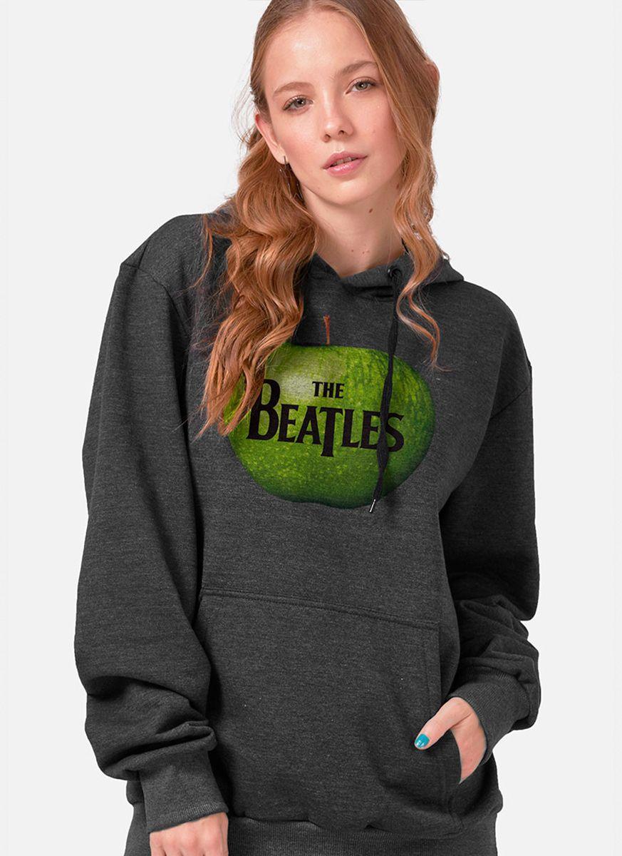 Moletom Feminino The Beatles Apple Records