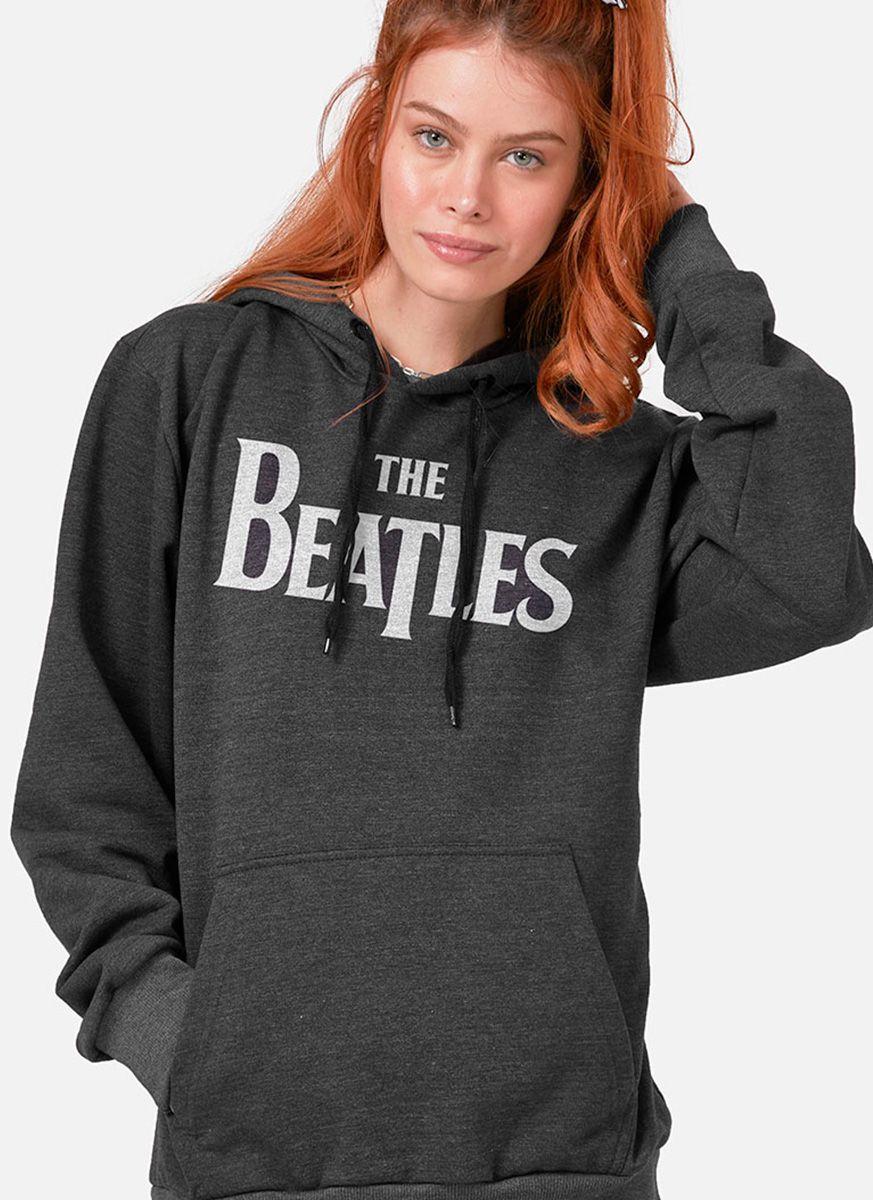 Moletom Feminino The Beatles Logo