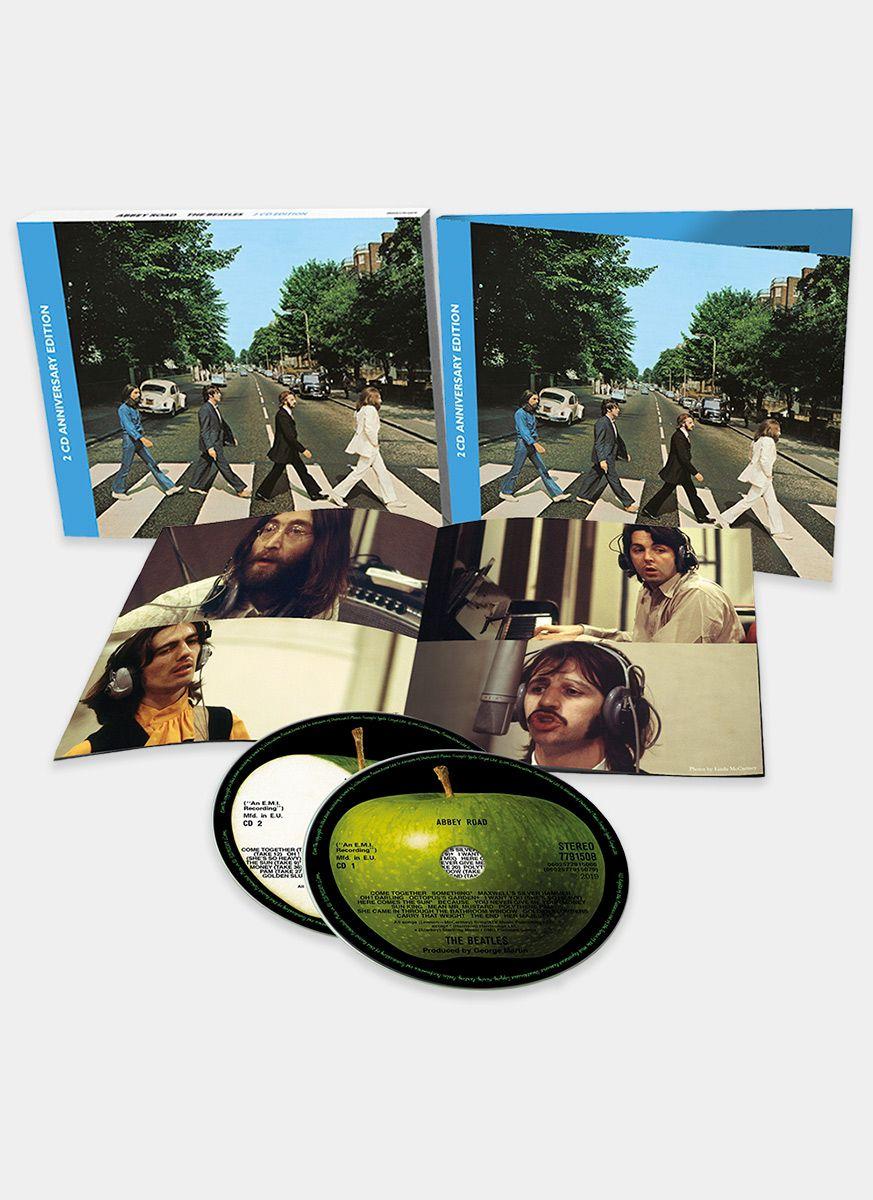 Pré-Venda CD Duplo The Beatles Abbey Road Anniversary Edition