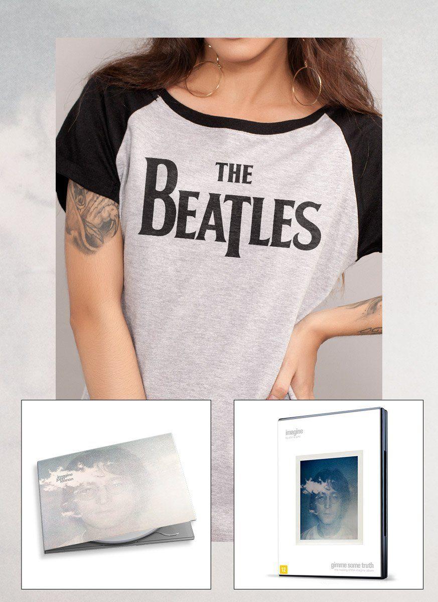 Combo Feminino John Lennon Imagine