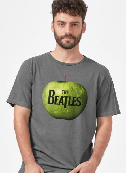 T-shirt Premium Masculina The Beatles Apple Records