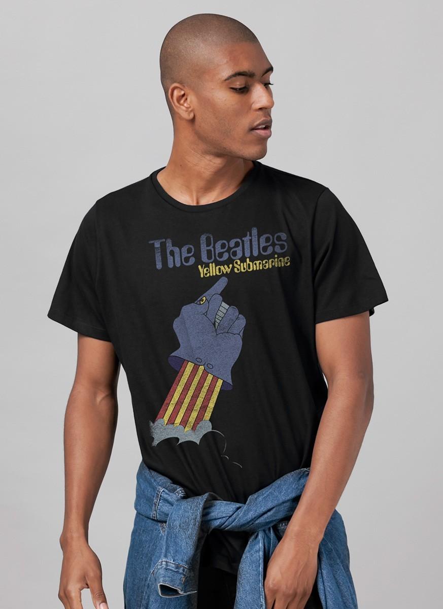Camiseta Unissex The Beatles Yellow Submarine Basic 2