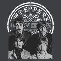 Camiseta Masculina The Beatles Sgt Pepper's Gray