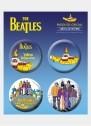 Cartela de Buttons The Beatles Yellow Submarine