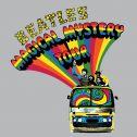 Camiseta Unissex The Beatles Bus Basic Grey