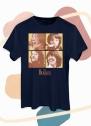 Camiseta Unissex The Beatles Apple Let It Be Art
