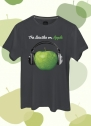Camiseta Unissex The Beatles On Apple Fone