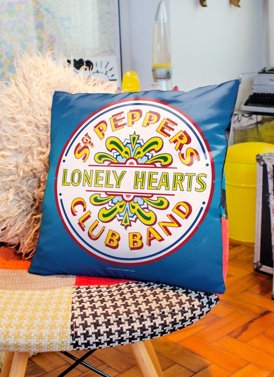 Almofada The Beatles Sgt Pepper´s Club Band And The Lonely Hearts