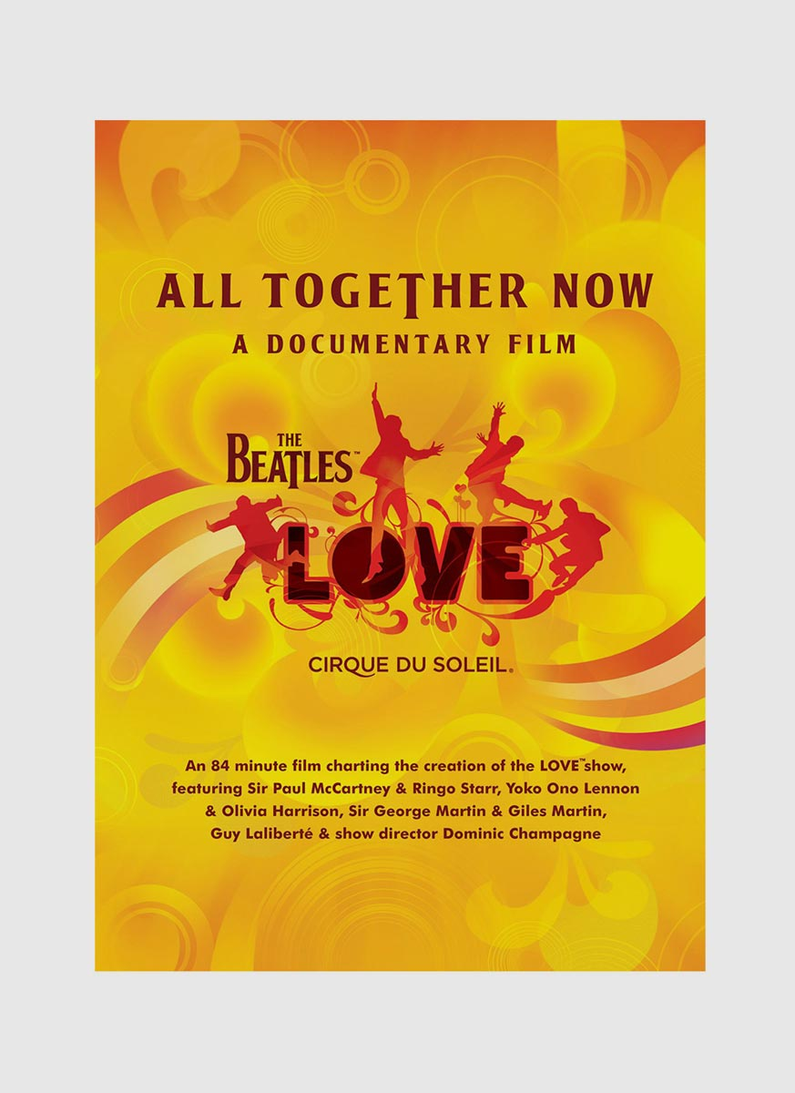 CD  DVD The Beatles - Love