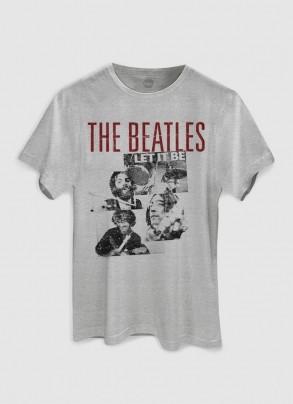 Camiseta Unissex The Beatles Let It Be Basic