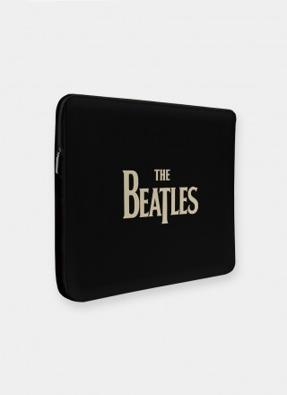 Capa Para Notebook The Beatles - Abbey Road Black