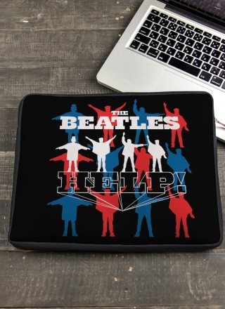 Capa Para Notebook The Beatles Help!