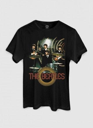 Camiseta Unissex The Beatles Picture Basic