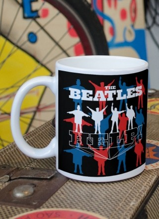 Caneca The Beatles Help