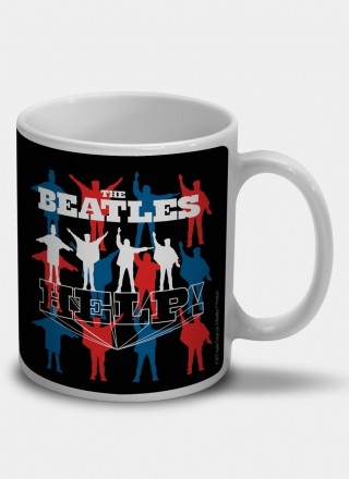 Caneca The Beatles Help!