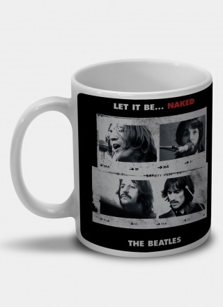 Caneca The Beatles Let It Be... Naked