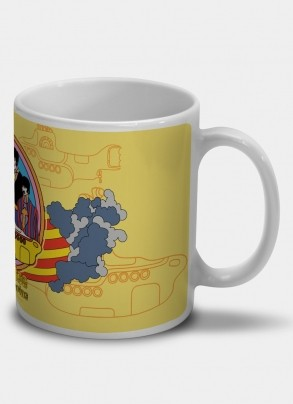Caneca The Beatles - Yellow Submarine