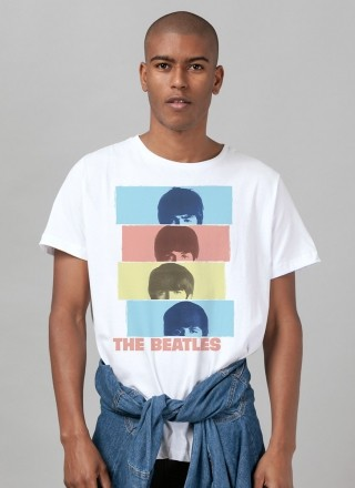 Camiseta Unissex The Beatles Headshot