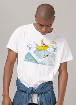 Camiseta Unissex The Beatles Land of Submarines