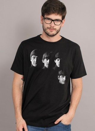 Camiseta Unissex The Beatles With The Beatles