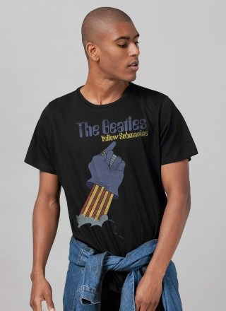 Camiseta Unissex The Beatles Yellow Submarine Basic 2
