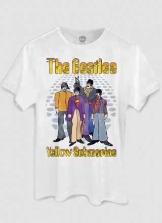 Camiseta Unissex The Beatles - Yellow Submarine Classic