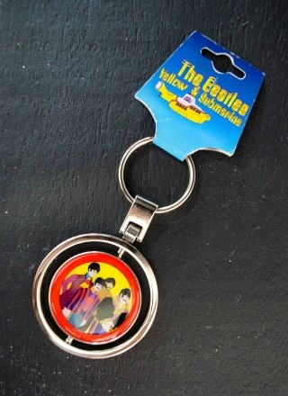 Chaveiro Giratório The Beatles Yellow Submarine