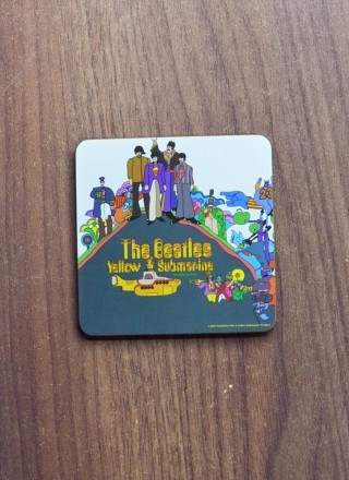Porta Copo The Beatles Yellow Submarine