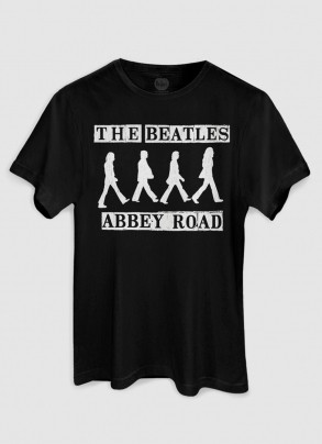 Camiseta Unissex The Beatles Abbey Road P&B