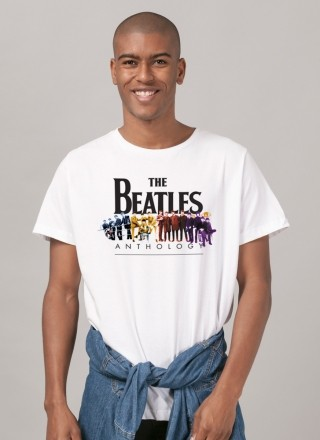 Camiseta Masculina The Beatles Anthology