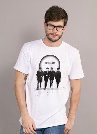 Camiseta Unissex The Beatles The Beatles Are Coming 2