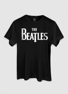 T-Shirt Feminina The Beatles Classic Logo